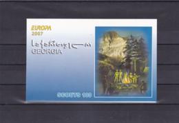 2007 - 2008 - Georgien - Georgia - Géorgie - Scout - YT N°C436 - Carnet - Europa-CEPT
