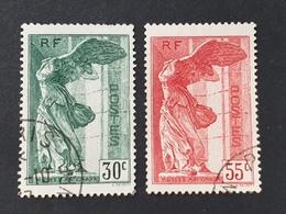 N° 354/355  Avec Oblitération Cachet à Date  Etat Bien - France