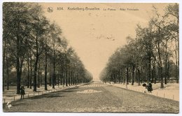 CPA - Carte Postale - Belgique - Bruxelles - Koekelberg - Le Plateau - Allée Principale - 1923 (M8218) - Koekelberg
