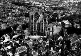 2788 Cpsm 18 Bourges -  Vue Aérienne - Bourges