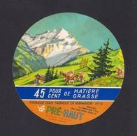 Etiquettes De Fromage Le Pré-Haut (61). - Quesos