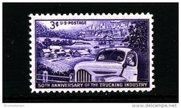 UNITED STATES/USA - 1953  TRUCKING INDUSTRY  MINT NH - Stati Uniti