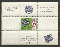 PARAGUAY - MNH - Europa-CEPT - Birds - 1961 - Europa-CEPT