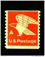 "UNITED STATES/USA - 1978  EAGLE ""A""  COIL  PERF. 10 VERT  MINT NH - Stati Uniti"