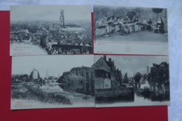 Cp Bruges Lot  4 Cartes - Belgique