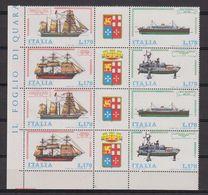 Italy 1977 Ships / Naval Fleet 2x4v (corner) ** Mnh (42484B) - 1971-80: Nieuw/plakker
