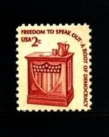 UNITED STATES/USA - 1977  2c. FREEDOM TO SPEAK OUT  MINT NH - Stati Uniti