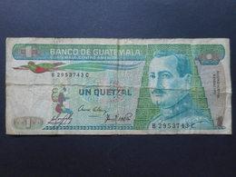 Guatemala 1 Quetzal 1985 - Guatemala