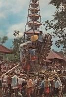Postcard Cremation Ritual On Bali Island [ Funeral ] My Ref  B23551 - Indonesia