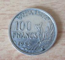France - Monnaie 100 Francs Cochet 1955 - TTB - N. 100 Francs