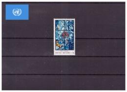 Nations Unies New York 1967 - MNH ** - Verres & Vitraux - Michel Nr. 189 Série Complète (uny047) - New-York - Siège De L'ONU