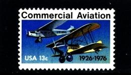 UNITED STATES/USA - 1976  COMMERCIAL AVIATION  MINT NH - Stati Uniti