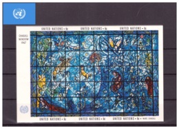 Nations Unies New York 1967 - MNH ** - Verres & Vitraux - Michel Nr. Bloc 4 (uny041) - New-York - Siège De L'ONU