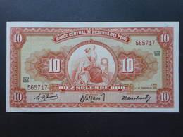 Peru 10 Soles De Oro 1961 - Perù