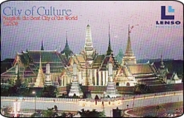 Thailand Phonecard  What Phrae Keo 300 Baht  Lenso Nr. 253 - Thaïland