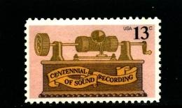 UNITED STATES/USA - 1977  SOUND RECORDING  MINT NH - Stati Uniti