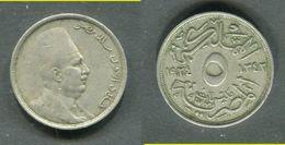 EGYPTE - 5 MILLIEMES 1924 - Egypte