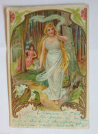 """Jugendstil, Waldfeen"" 1902 ♥  - Märchen, Sagen & Legenden"