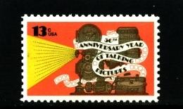 UNITED STATES/USA - 1977  ANNIVERSARY OF TALKING PICTURES  MINT NH - Stati Uniti