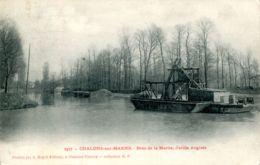 N°72294 -cpa Chalons Sur Marne -bras De La Marne, Jardin Anglais- - Châlons-sur-Marne