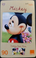 Mobilecard Thailand - Orange - Disney - Mickey (10) - Thaïland