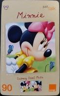 Mobilecard Thailand - Orange - Disney - Minnie - Thaïland