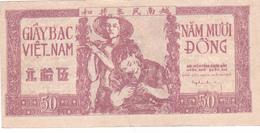 BILLET VIETNAM 50 DONG De 1952 @ PICK 39 - Vietnam