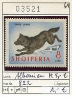 Albanien - Albanie - Albania - Michel 822 - ** Mnh Neuf Postfris - Wolf - Albanien