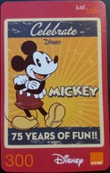Mobilecard Thailand - Orange - Disney - Mickey (8) - Thaïland