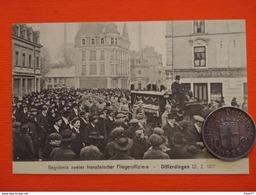 Differdange,  Begrabnis Zweier Franzosischer Fliegeroffiziere , Differdingen 12/2/1917 - Autres