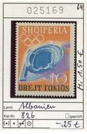 Albanien - Albanie - Albania - Michel 826 - ** Mnh Neuf Postfris - Olympiade - Albanien