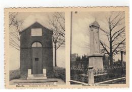 Haneffe - Chapelle ND De Lourdes   Haneffe - Le Monument - Donceel