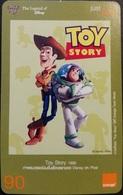 Mobilecard Thailand - Orange - The Legend Of Disney  - Toy Story - Thaïland