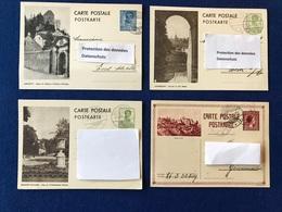 Luxembourg - Lot De 4 Cartes - Konvolut 4 Karten - Larochette - Luxembourg - Mondorf - Wiltz - Autres