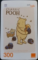 Mobilecard Thailand - Orange  - Disney - Winnie The Pooh (6) - Honigtopf - Thaïland