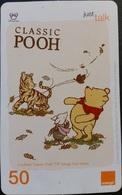 Mobilecard Thailand - Orange  - Disney - Winnie The Pooh (5) - Thaïland