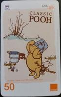 Mobilecard Thailand - Orange  - Disney - Winnie The Pooh (4) - Thaïland
