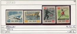Albanien - Albanie - Albania - Michel 793-796 - ** Mnh Neuf Postfris - Olympiade 1964 - Albanien