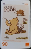 Mobilecard Thailand - Orange  - Disney - Winnie The Pooh (3) - Thaïland