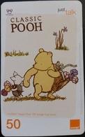 Mobilecard Thailand - Orange  - Disney - Winnie The Pooh (1) - Thaïland