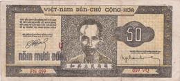BILLET VIETNAM 50 DONG De 1950 @ PICK 32 - Vietnam