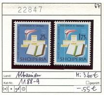 Albanien - Albanie - Albania - Michel 1188-1189 - ** Mnh Neuf Postfris - - Albanien
