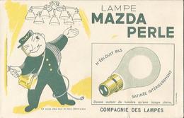 Buvard Lampe Mazda Perle - Electricité & Gaz