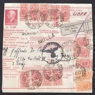 BULLETIN D'EXPÉDITION D'UN COLIS D'ORANGES POUR UN MILITAIRE A TRÊVES(TRIER),1943. - Colis-postaux