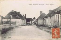 72 - Saint-Georges-du-Rosay (Sarthe) - Entrée Du Bourg - France