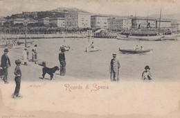 CARTOLINA - LA SPEZIA - RICORDO DI SPEZIA - La Spezia