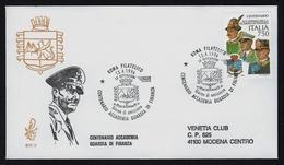 """1996 ITALIA """"CENTENARIO ACCADEMIA GUARDIA DI FINANZA"""" FDC VENETIA - 1946-.. République"""