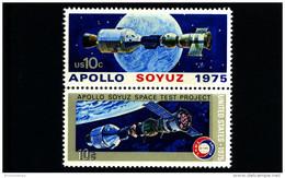 UNITED STATES/USA - 1975  APOLLO/SOYUZ  PAIR  MINT NH - Stati Uniti