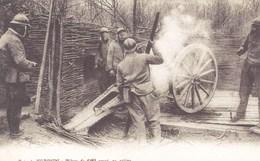 Meuse - Près De Verdun - Pièces De 120 Court En Action - France