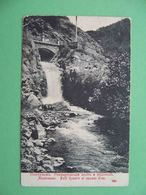 ABASTUMAN Abastumani I 1910 Remmertovsky Bridge And Waterfall. Russian Postcard. Georgia - Géorgie